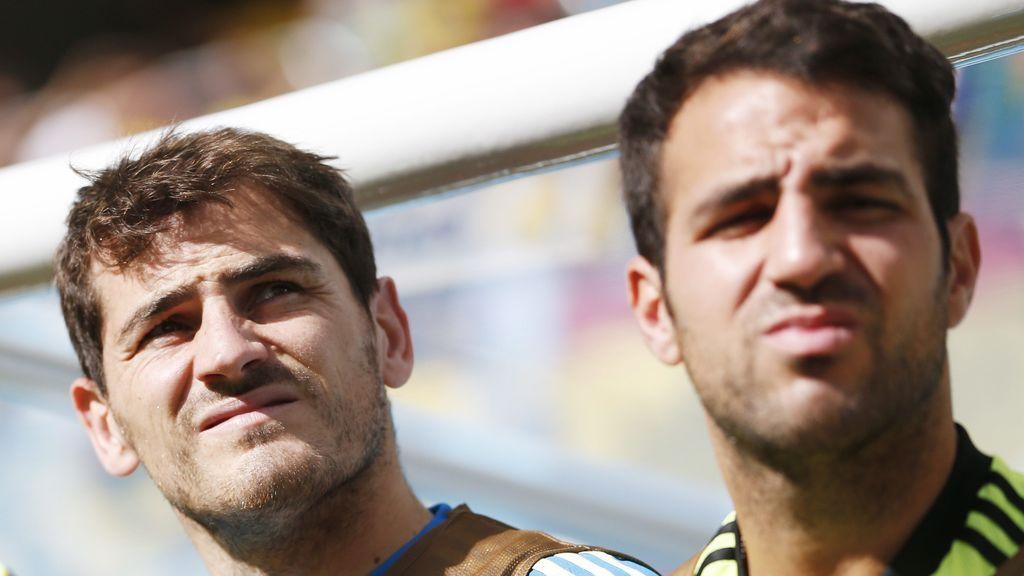 La confesión de la 'rareza' de Iker Casillas y que hace Fábregas se parta de risa
