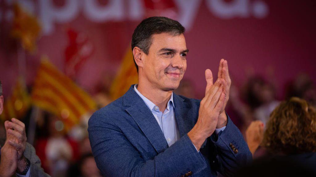 Pedro Sánchez suaviza el tono evita hablar del 155 y la sentencia al 'procés' en Barcelona