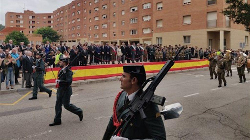 """La cúpula de los Mossos abandona el acto de la Guardia Civil ofendidos por un discurso """"poco respectuso"""""""