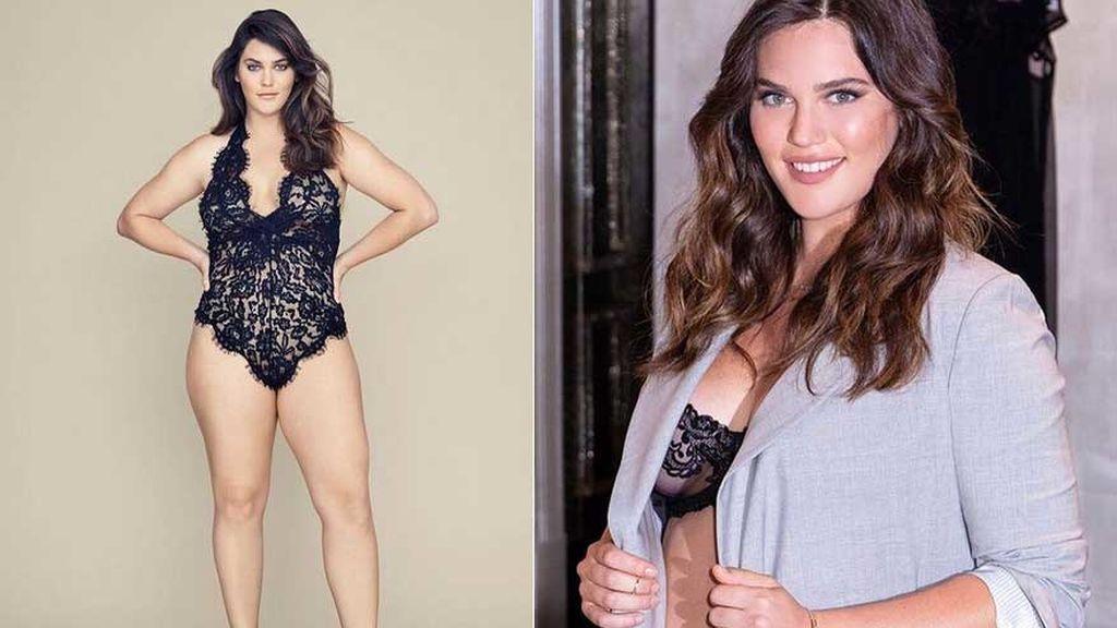 Victoria's Secret ficha a la modelo de tallas grandes Ali Tate Cutler