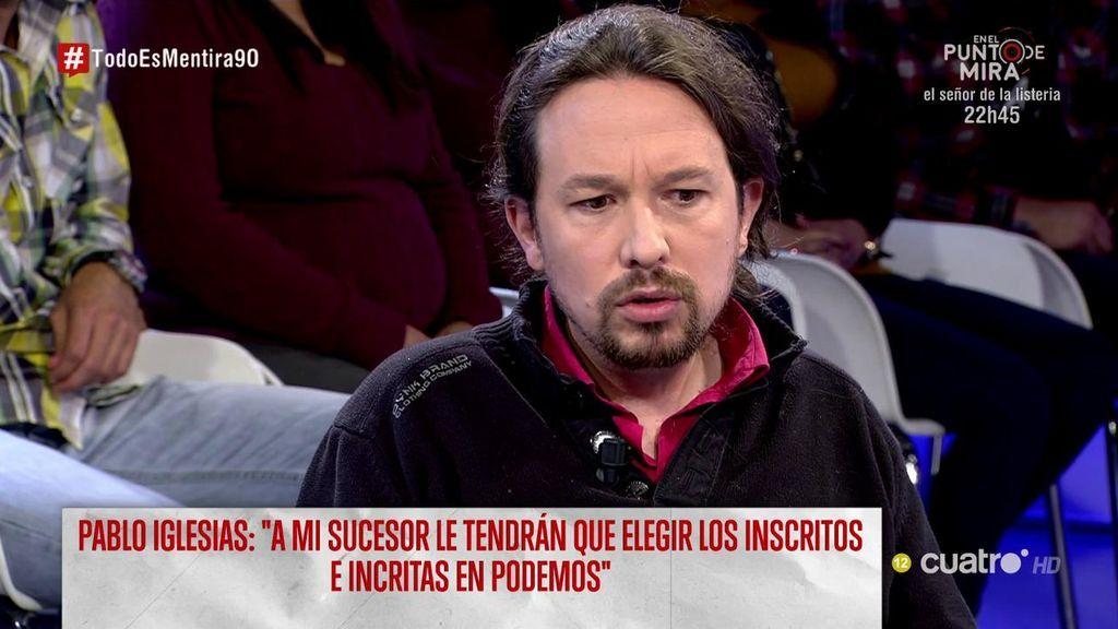Pablo Iglesias, posible objetivo de un terrorista yihadista