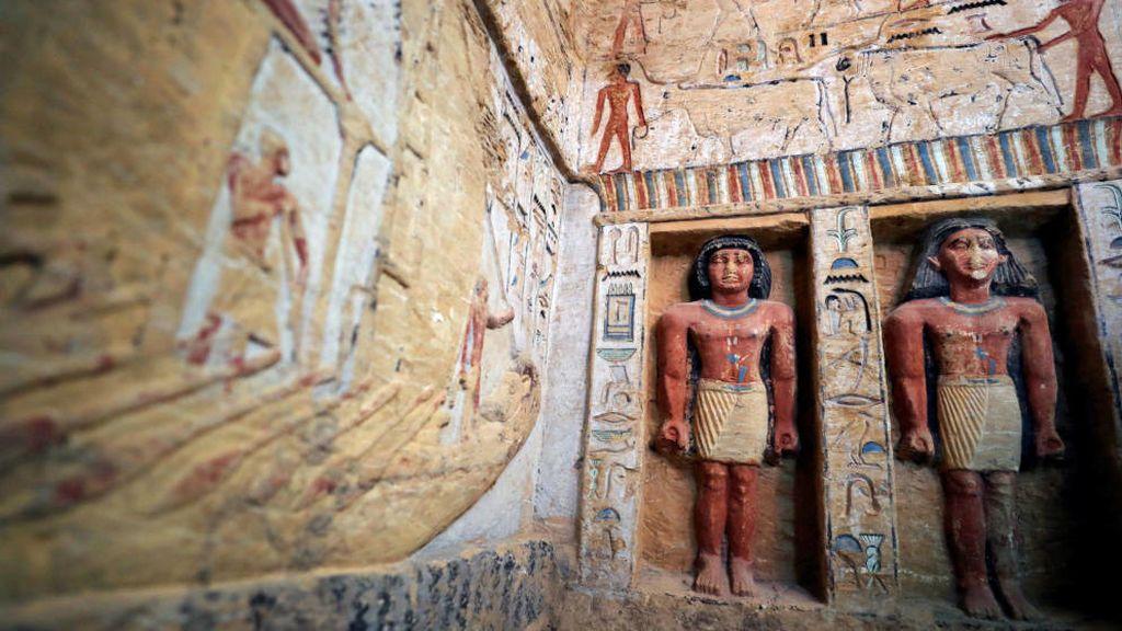 Descubren el mapa de almas egipcio más antiguo del mundo