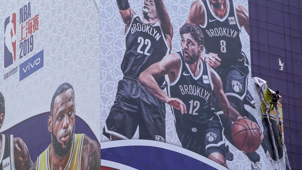 Un tuit, la causa de que el negocio de la NBA se tambalee en China