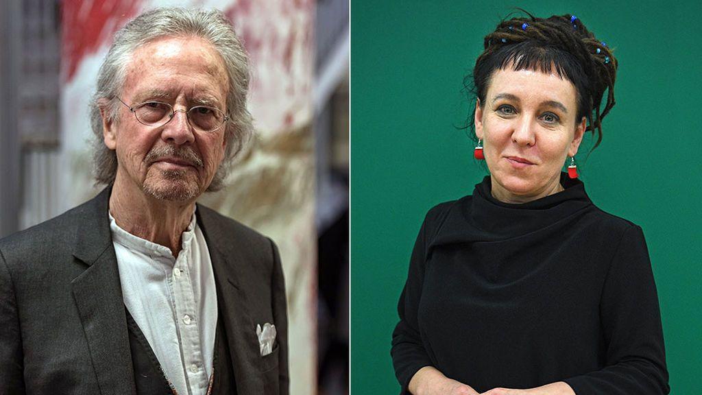 Peter Handke y Olga Tokarczuk , ganadores del Premio Nobel de Literatura 2018-2019
