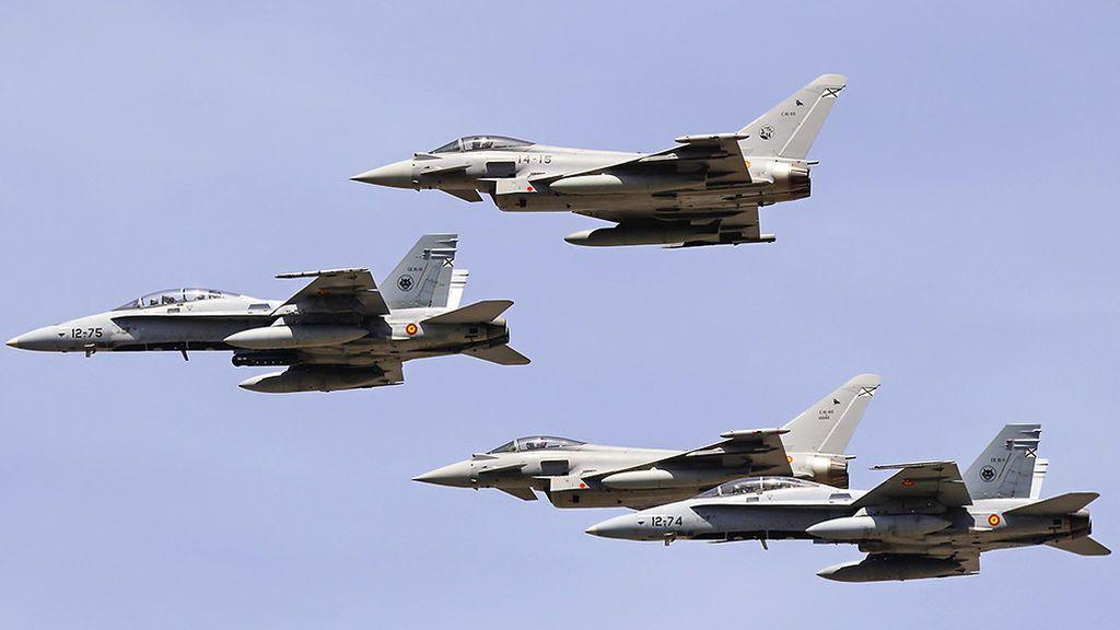 Guía básica para conocer los aviones y vehículos más destacados del Desfile del 12 de octubre