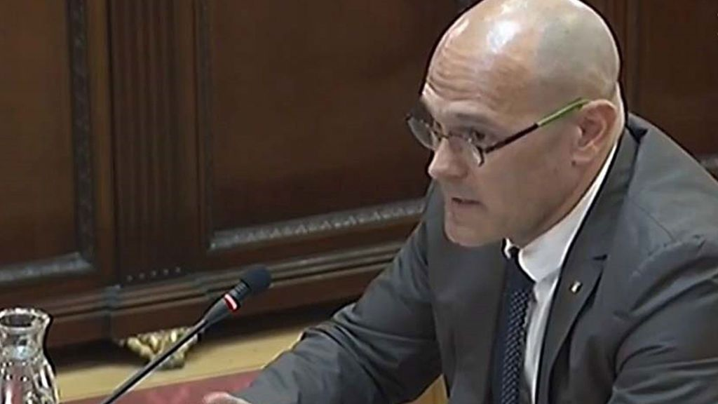 Raül Romeva, conseller de Exteriores de la Generalitat