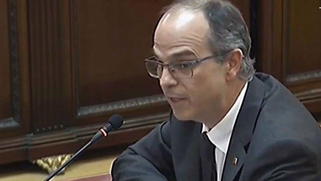 Jordi Turull, conseller de Presidencia y portavoz de la Generalitat