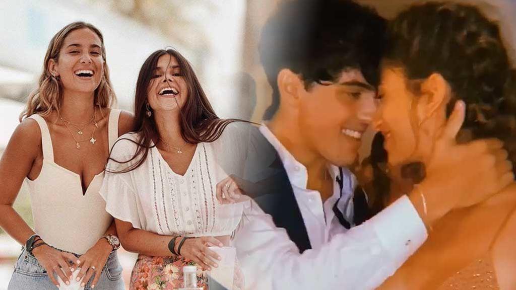 María G. de Jaime y Pombo imitan la coreografía viral de Óscar Casas con su novia