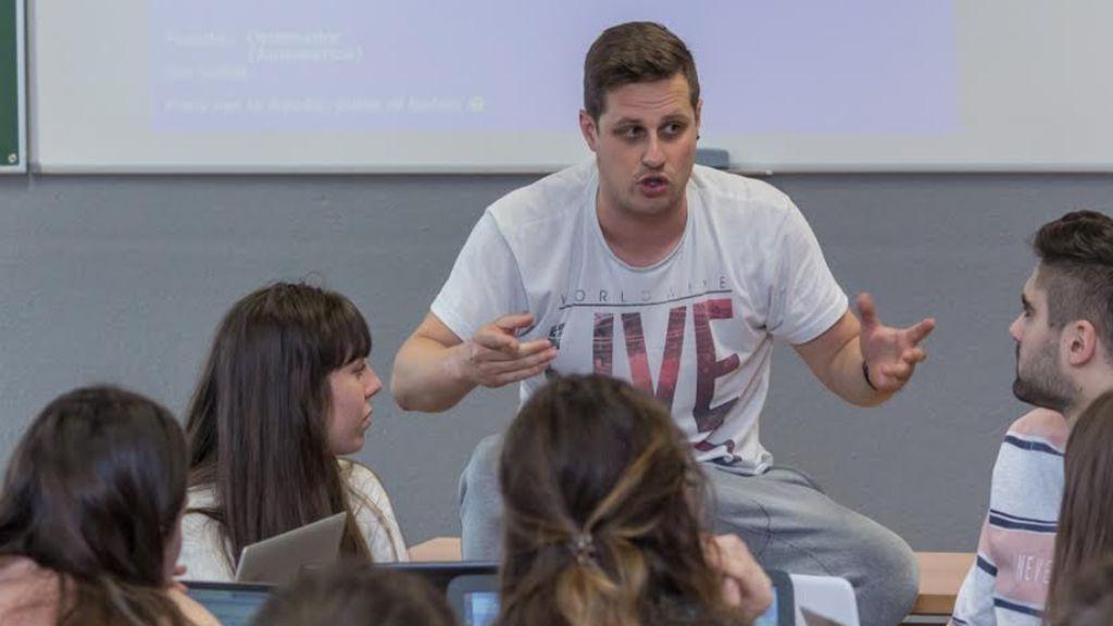 David, el superprofesor que ha lanzado una cruzada contra el acoso escolar