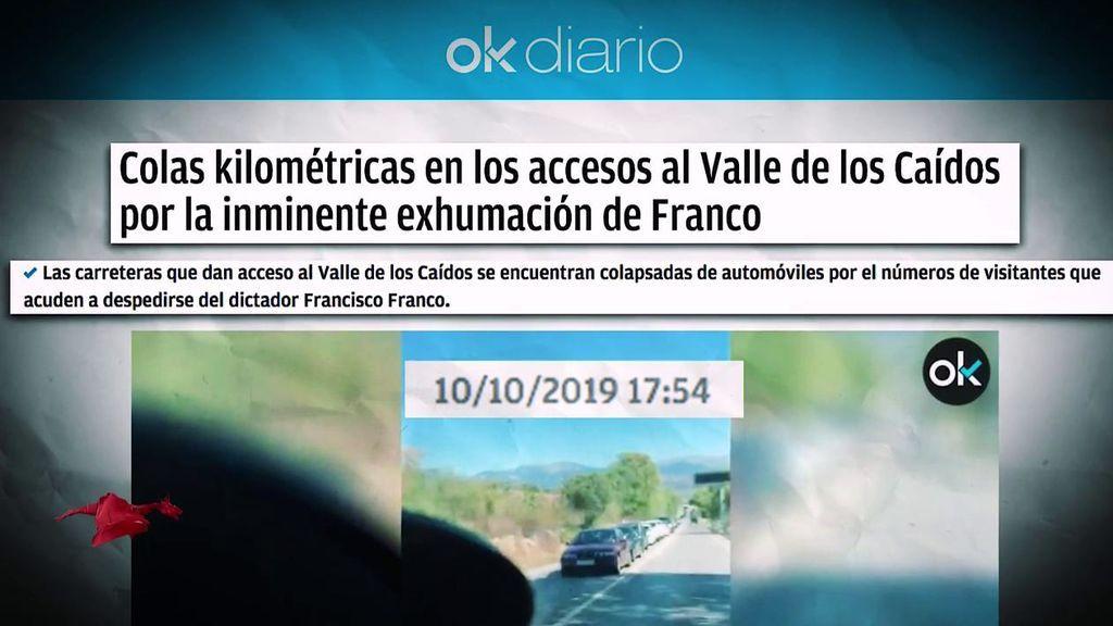 La exhumación de Franco nuevo objetivo de Eduardo Inda