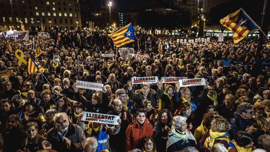 Las movilizaciones que prepara el independentismo contra la sentencia