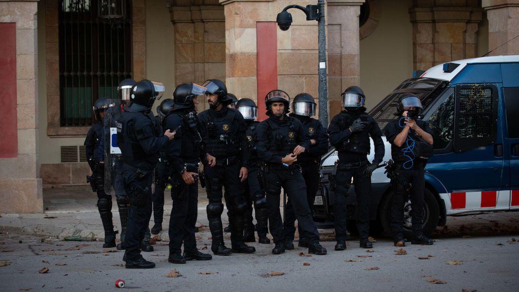 Arranca el dispositivo policial por las movilizaciones masivas tras la sentencia del 'procés'