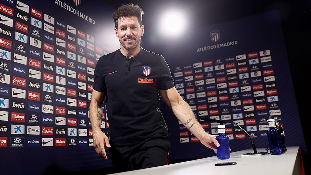 Aviso de las autoridades: escuchar mucho a Simeone da ganas de invadir la Champions