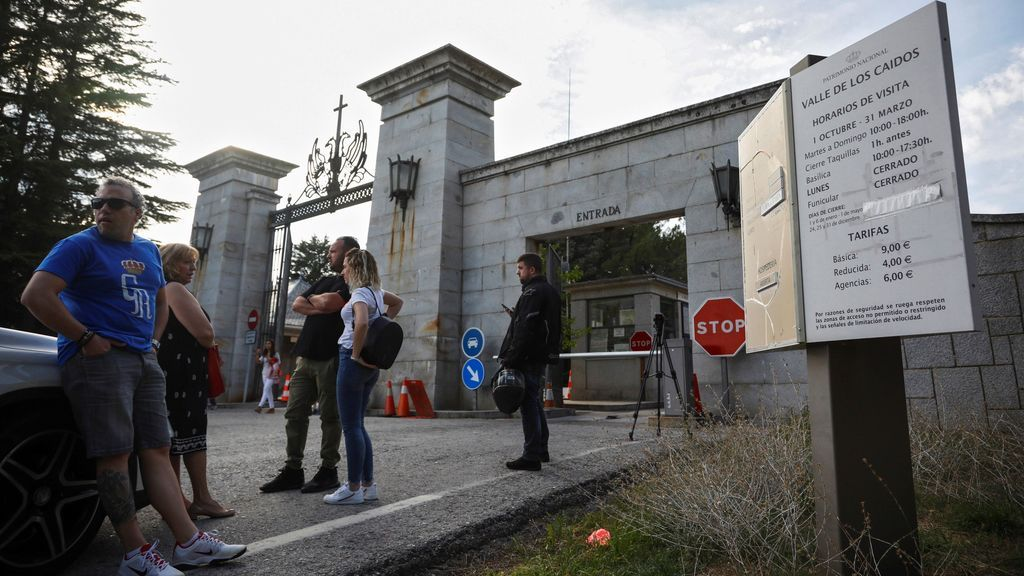 """""""Arriba hay lío"""", el aviso que ha llevado a la Guardia Civil a entrar en el Valle de los Caídos"""