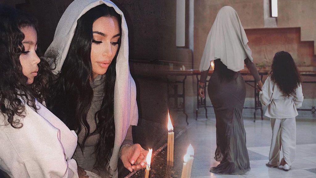 Kim Kardashian se bautiza en Armenia a los 38 años junto a todos sus hijos