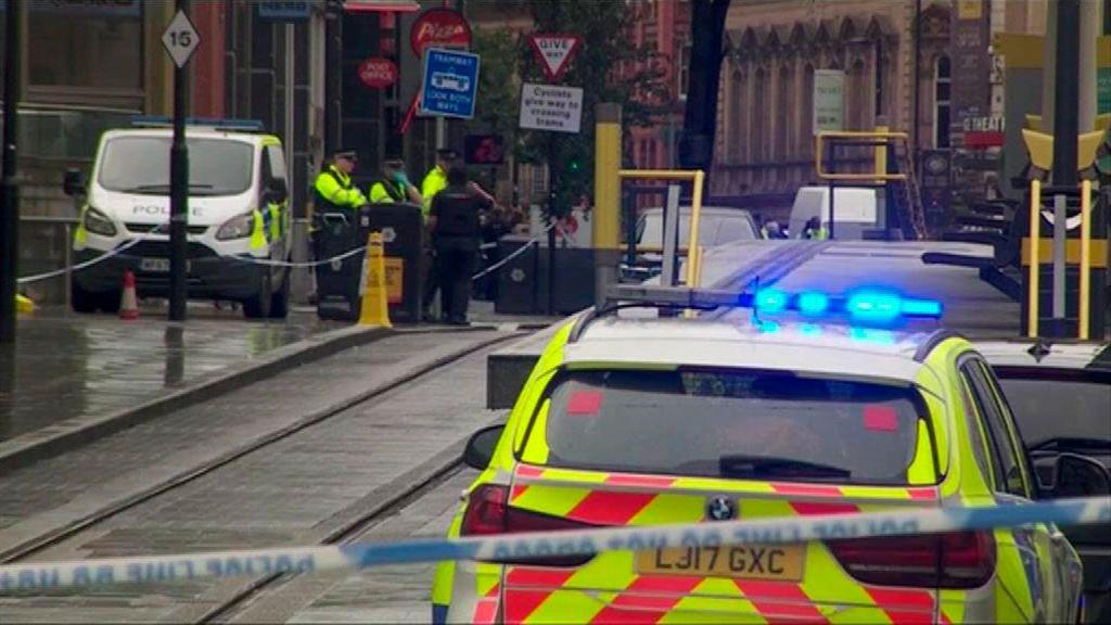 Detenido un hombre tras apuñalar a cuatro personas en Manchester