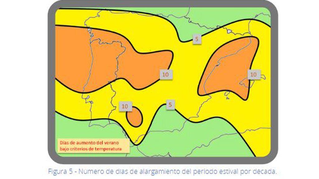 AEMET - Temperaturas verano