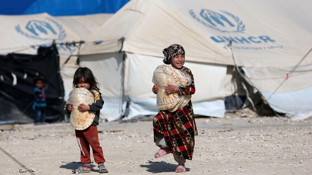 Los desplazados a causa de la ofensiva de Turquía en Siria