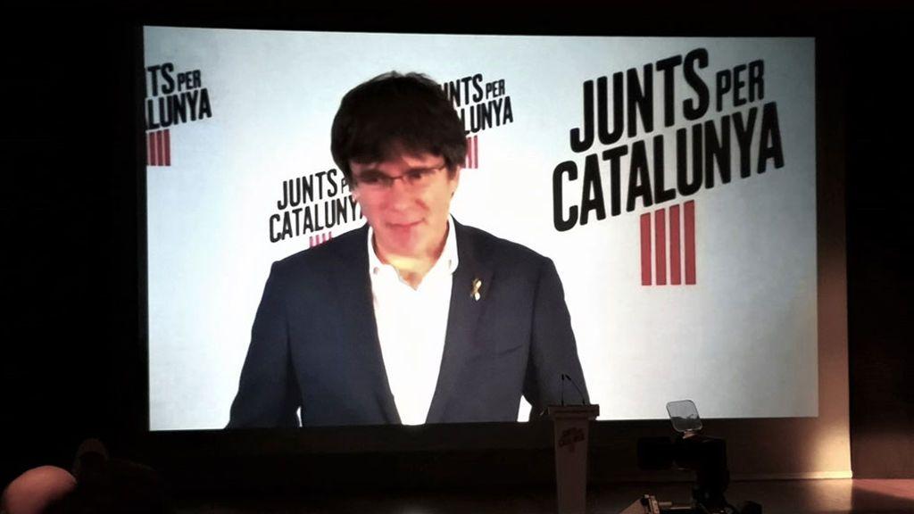 Puigdemont carga contra la filtración de la sentencia del 'procés'