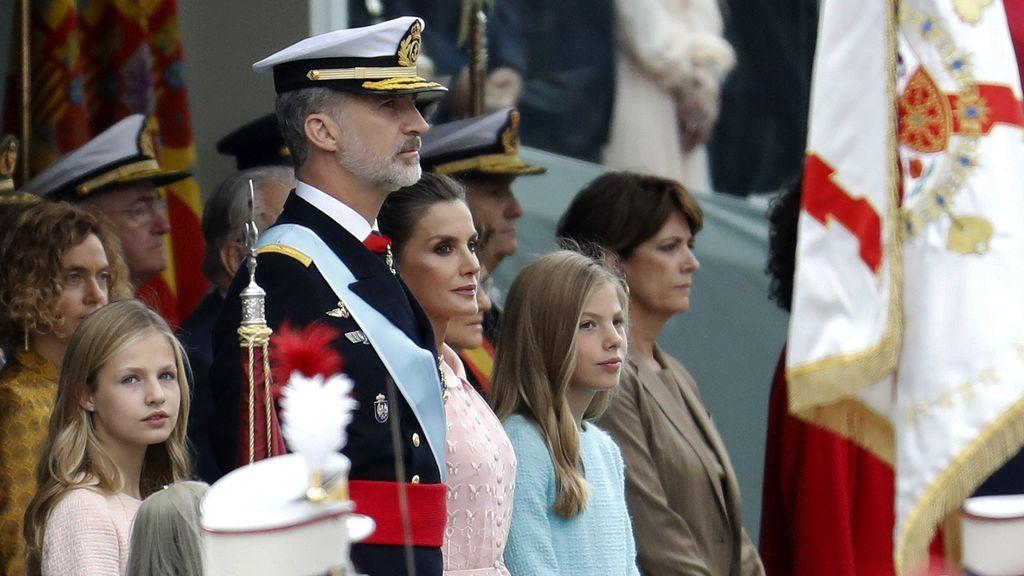 El desfile del Día de la Hispanidad, en imágenes