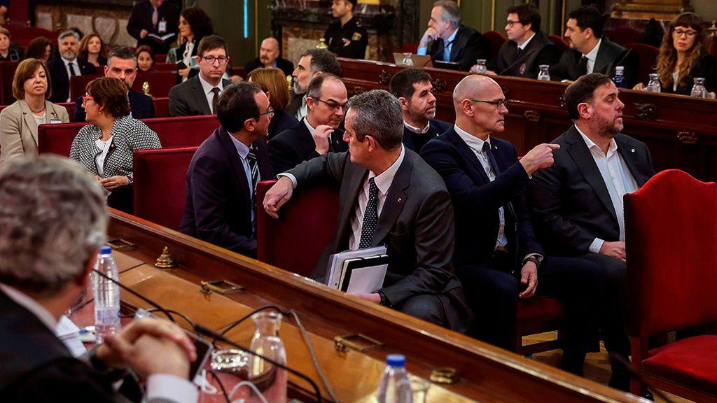 Las defensas de Jordi Sánchez, Josep Rull y Jordi Turull amenazan con acciones legales por la filtración de la sentencia