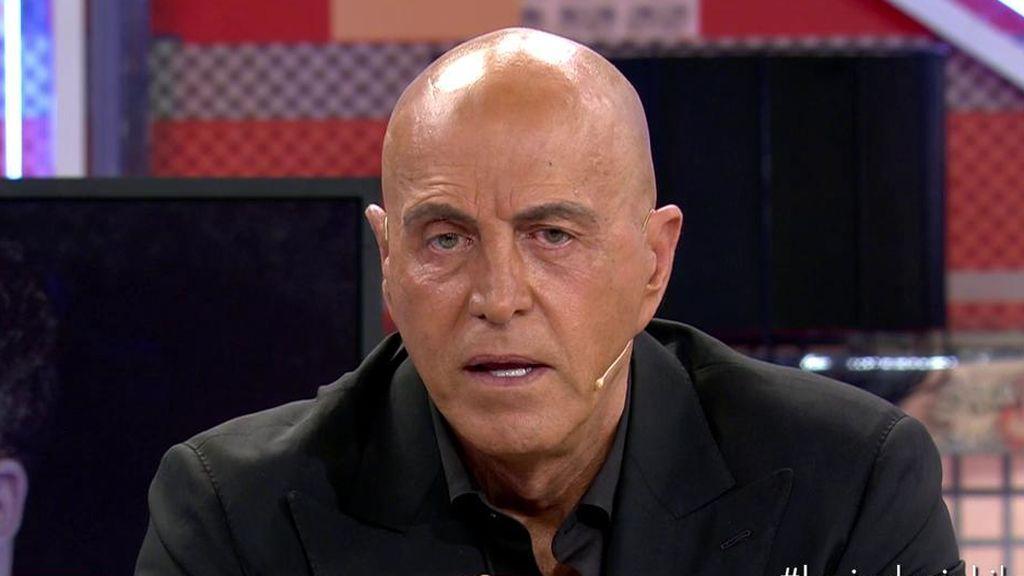 Kiko Matamoros niega que su hijo Diego haya tenido un lío con una mujer pariente de Estela