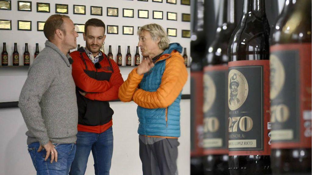 La fábrica de cerveza en Laciana