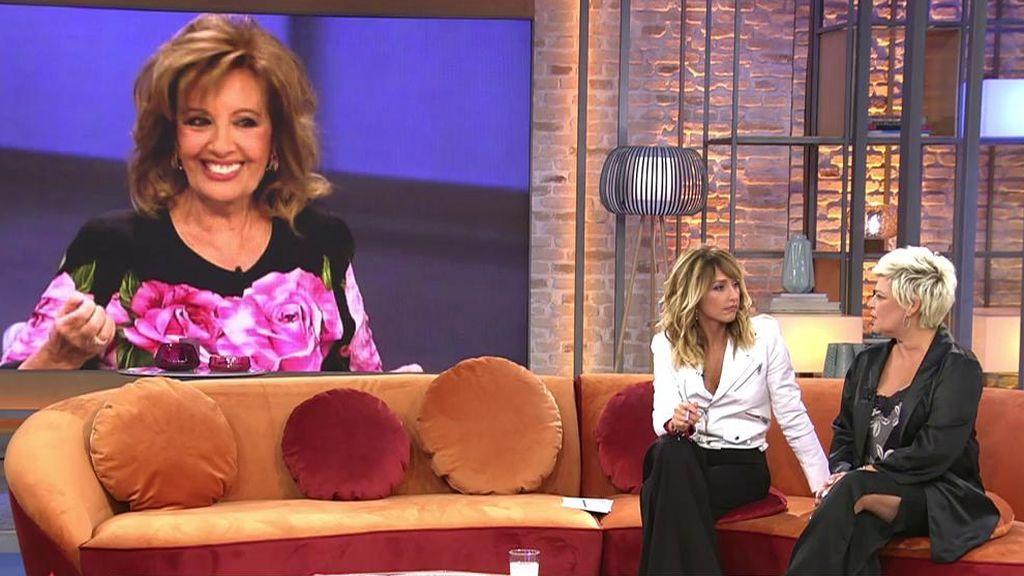 La reacción de Terelu a la falsa noticia de que María Teresa Campos había muerto
