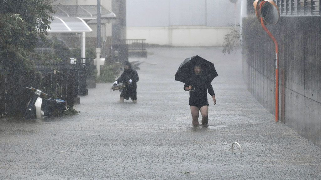 El tifón 'Hagibis' deja al menos 13 víctimas mortales y 149 heridos en Japón