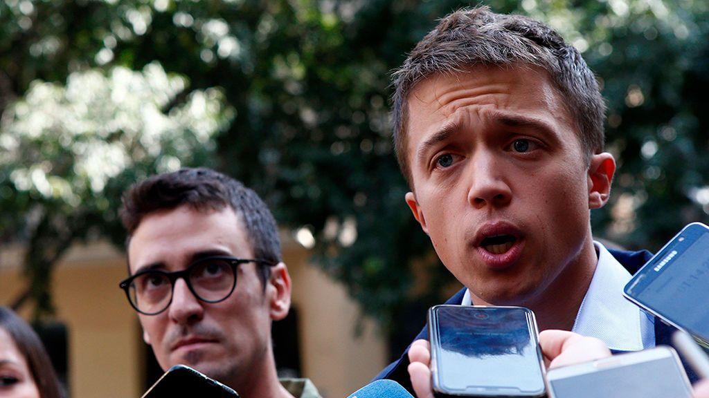 "Iñigo Errejón califica la sentencia del 'procés' de ""desproporcionada e inútil"""
