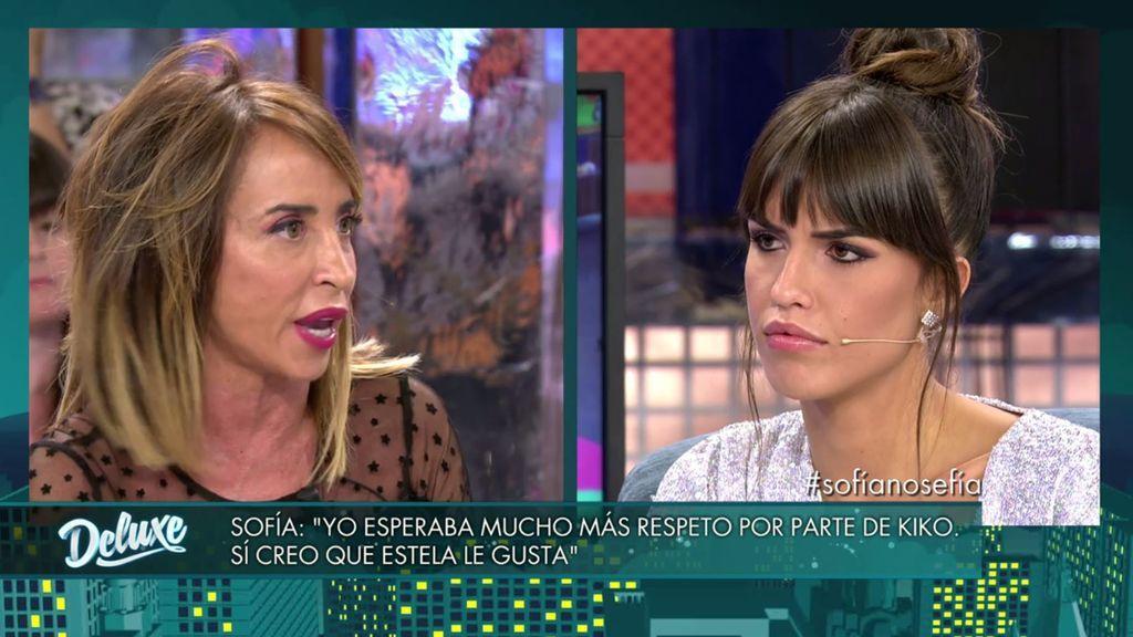 Sofía Suescun cree a que a Kiko le gusta Estela Grande