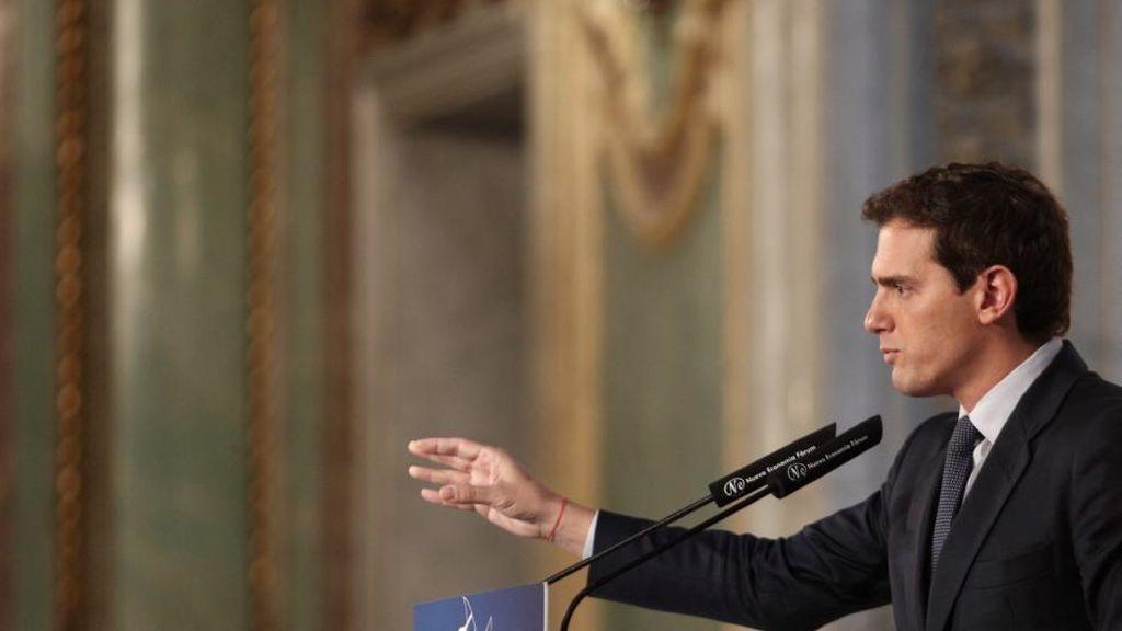 Rivera propone un pacto entre PP, PSOE y Ciudadanos