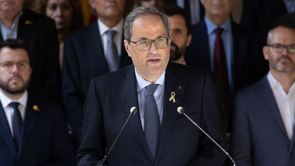 """Torra pide una reunión urgente con el Rey y Sánchez para abordar la """"crisis"""" que abre la sentencia"""
