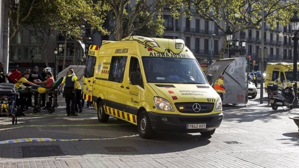Muere un niño de 5 años atropellado por una moto en Barcelona