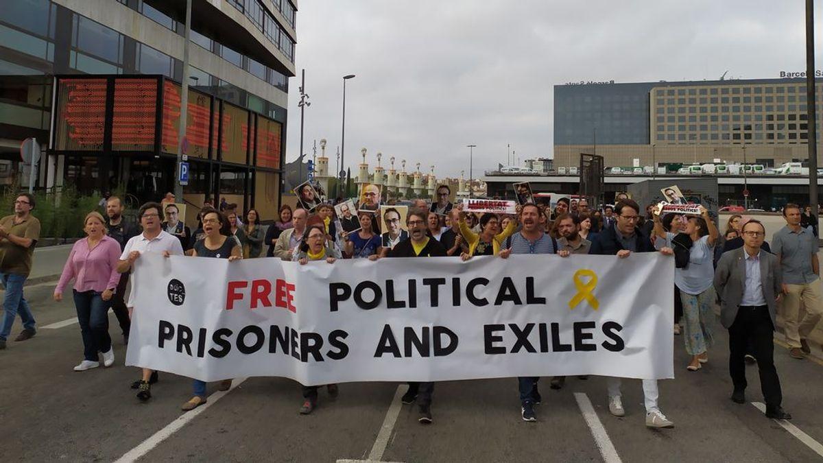 En directo: La reacción en la calles de Cataluña tras la sentencia del procés