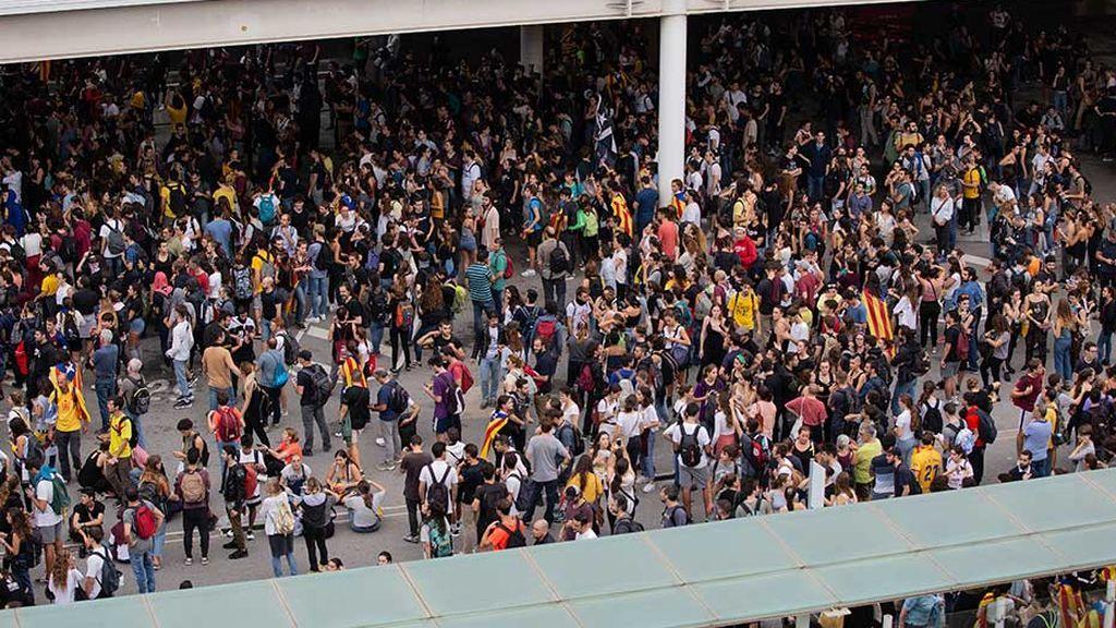 Movilizaciones en Barcelona