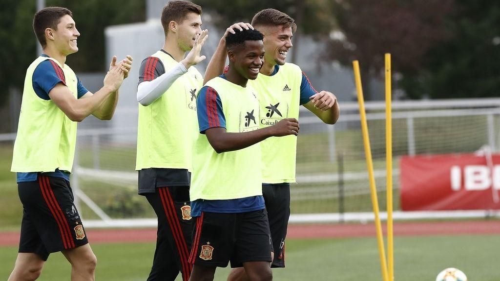 Montenegro - España, el debut de Ansu Fati con la Sub-21 este martes a las 18.45 en Cuatro y mitele.es