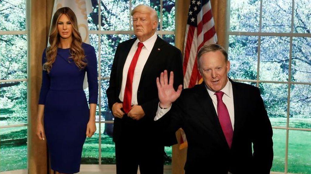 Trump pide el voto para su exportavoz en un concurso de baile de famosos