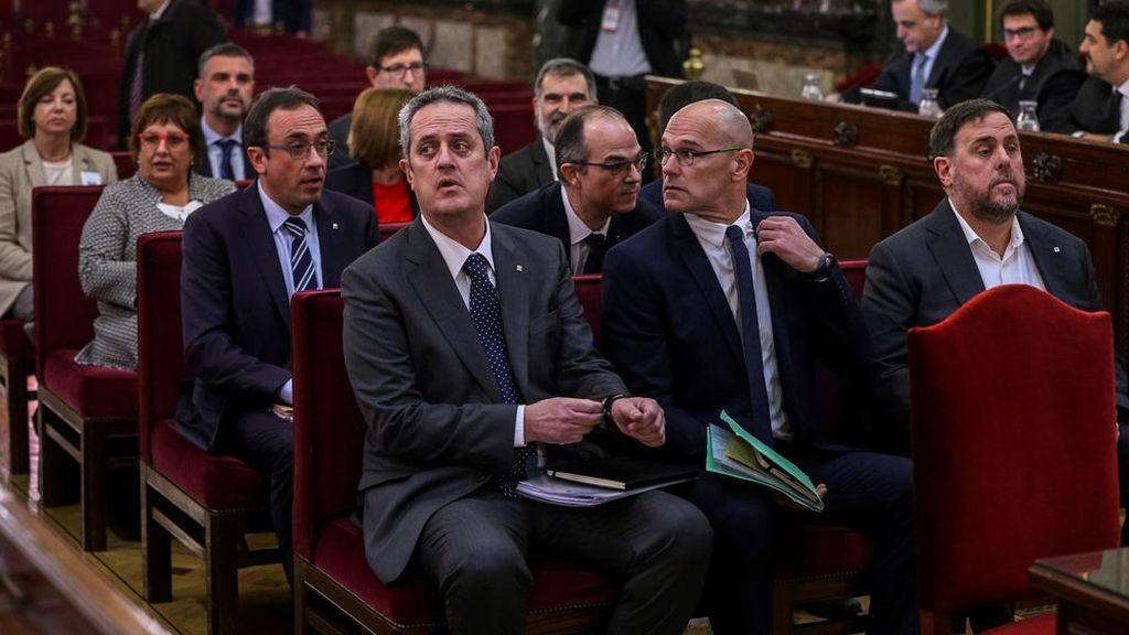 El Supremo condena a Oriol Junqueras a 13 años de prisión, 11,5 a Forcadell y 9 a los 'Jordis'a 1-O