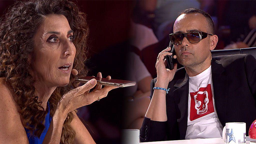 Laura Escanes manda a la m**** a Risto en directo y El mago Oculus lee la mente a la madre de Paz Padilla
