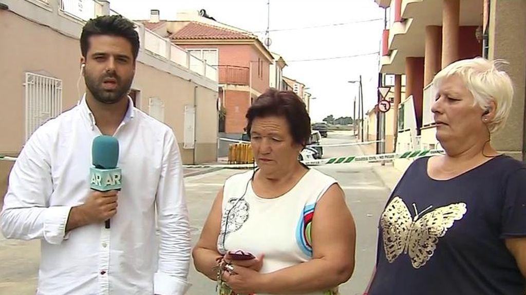 Hablan dos vecinas de los ancianos asesinados en Sangonera
