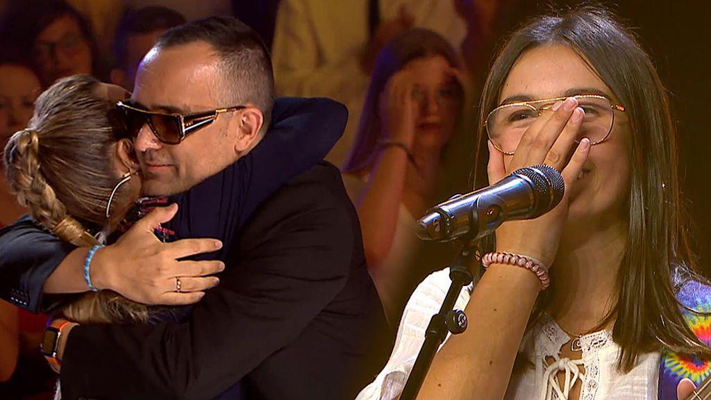 Risto y Edurne dan su pase de oro conjunto a la joven cantante Chiara
