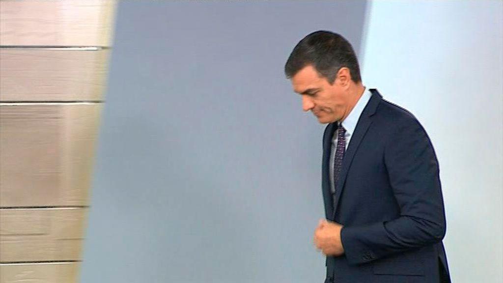En directo: Pedro Sánchez comparece en Moncloa para valorar la sentencia