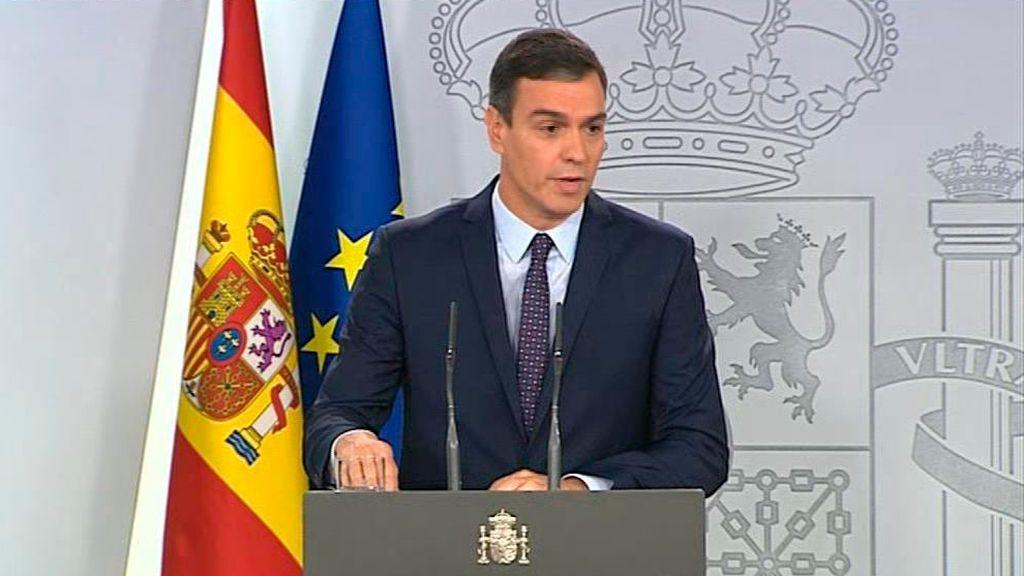 """Pedro Sánchez tras la sentencia: """"Asistimos a los estertores de una etapa superada"""""""