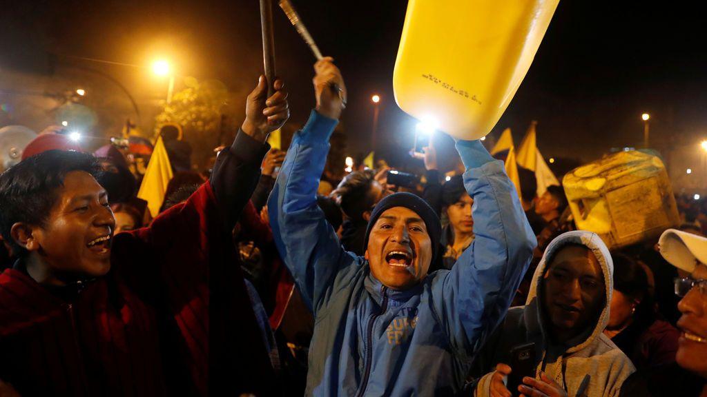Las protestas indígenas fuerzan a Lenín Moreno a derogar la reforma económica en Ecuador