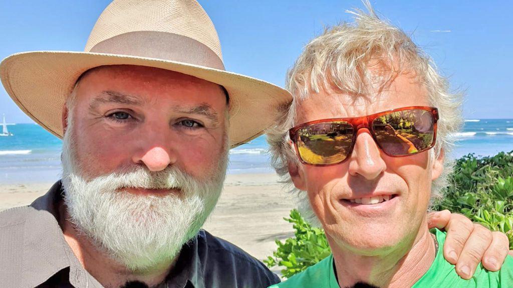 Jesús Calleja y José Andrés graban en Puerto Rico una nueva entrega de 'Planeta Calleja'