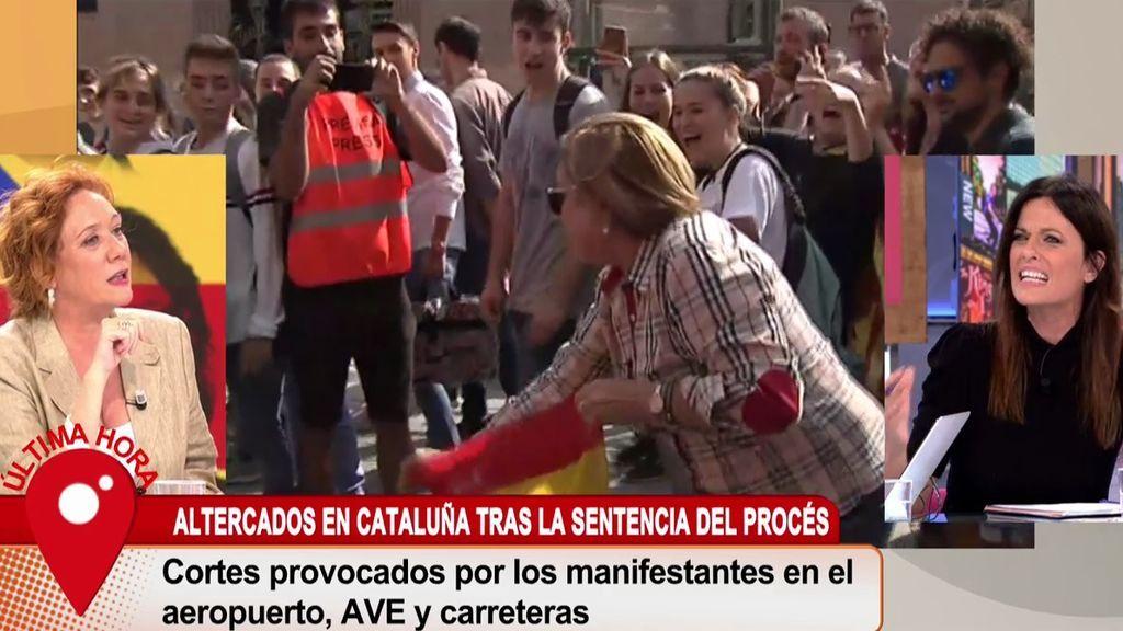"""La dura respuesta de Fallarás a Seguí: """"Como digas que yo no condeno la violencia, te llevo a juicio"""""""
