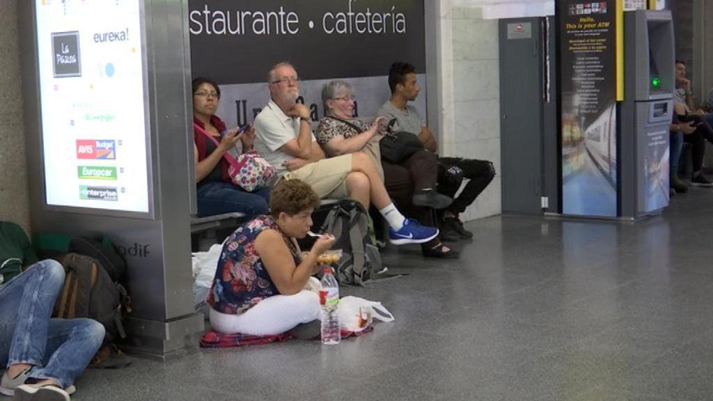 El AVE entre Barcelona y Girona sigue interrumpido