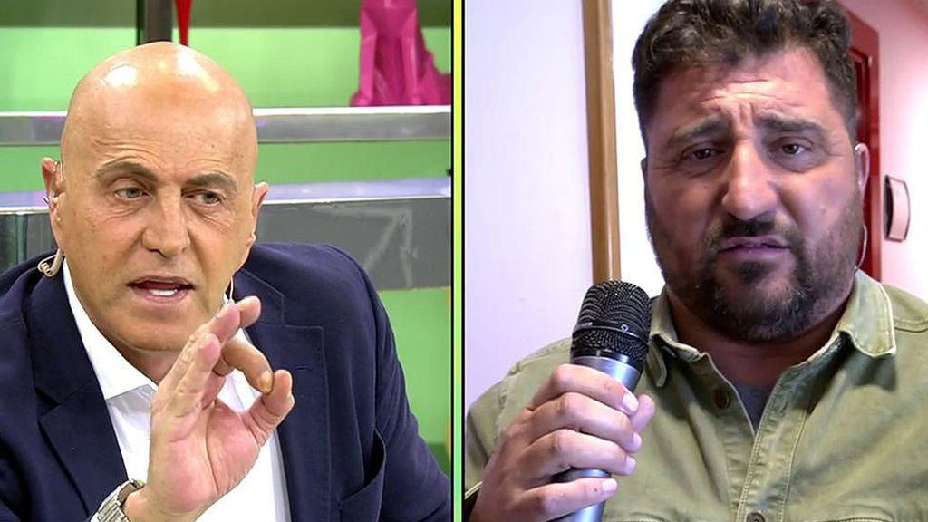 Enfrentamiento Kiko Matamoros y Sergio Garrido