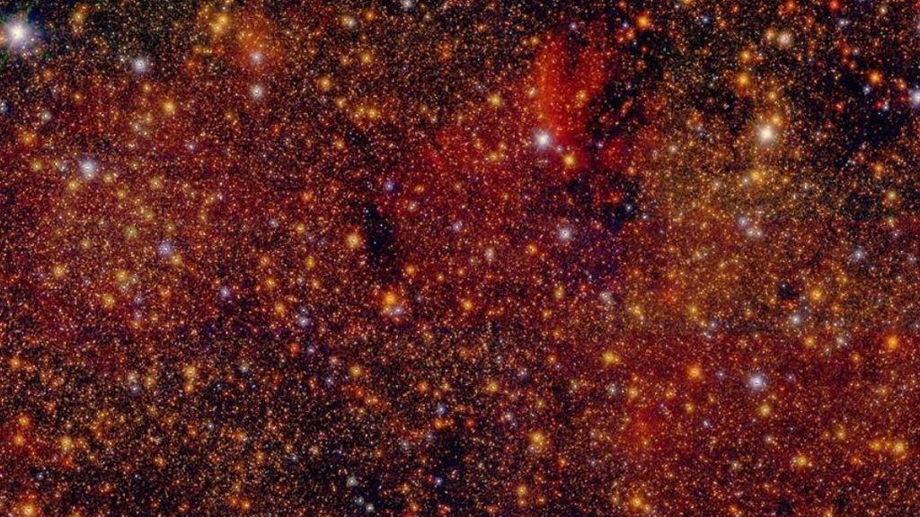 Investigadores españoles crean el catálogo estelar más detallado del centro galáctico